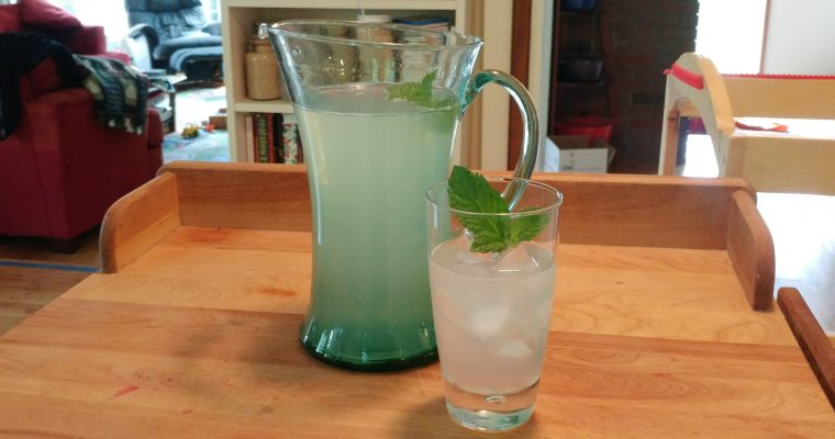Honey Mint Lemonade