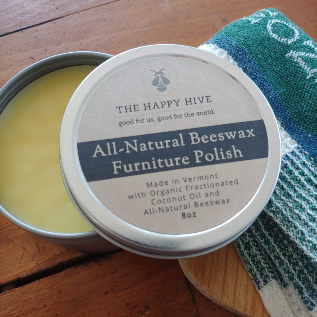 Happy Hive Beeswax Furniture Polish