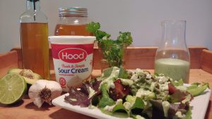 green goddess dressing with sour cream and honey recipe