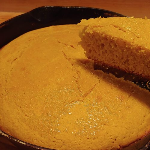 honey whole wheat corn bread